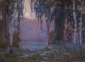 'Night_Scene'_by_Carl_Rudolph_Krafft,_Night Scene