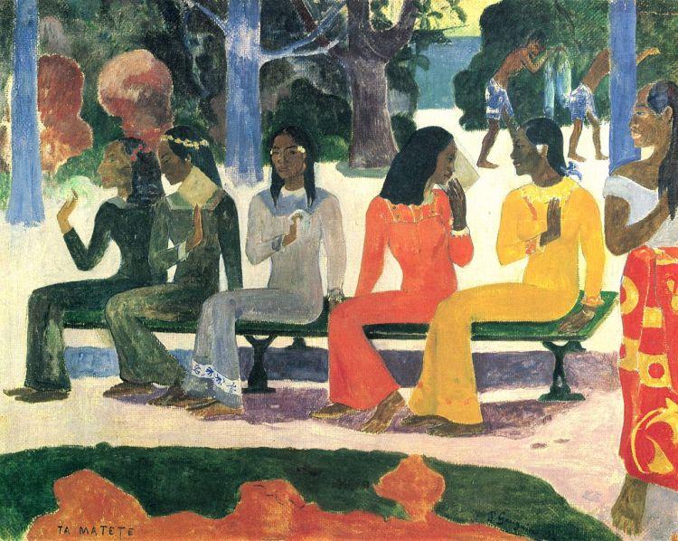1024px-Paul_Gauguin_Der Markt 1892 (3)