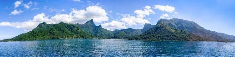 Moorea in franzsisch Polynesien
