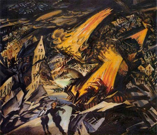 Meidner apokalyptische_landschaft_1912