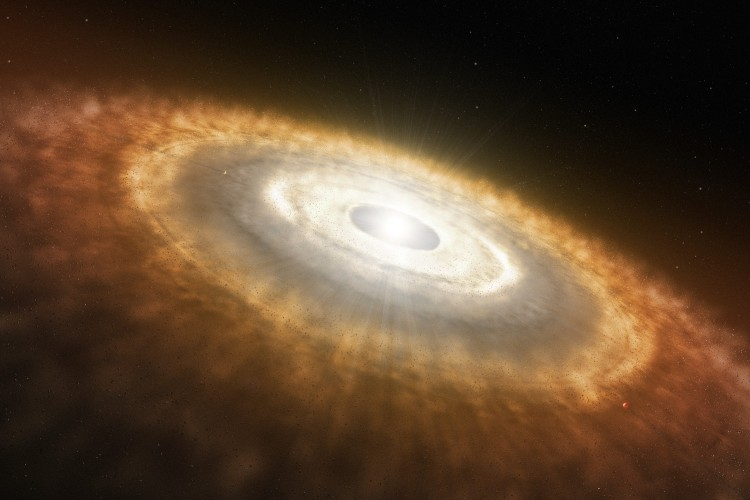 Artist%u2019s_Impression_of_a_Baby_Star_Still_Surrounded_by_a_Protoplanetary_Disc