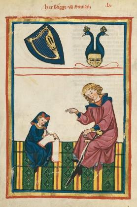 Codex_Manesse_Bligger_von_Steinach