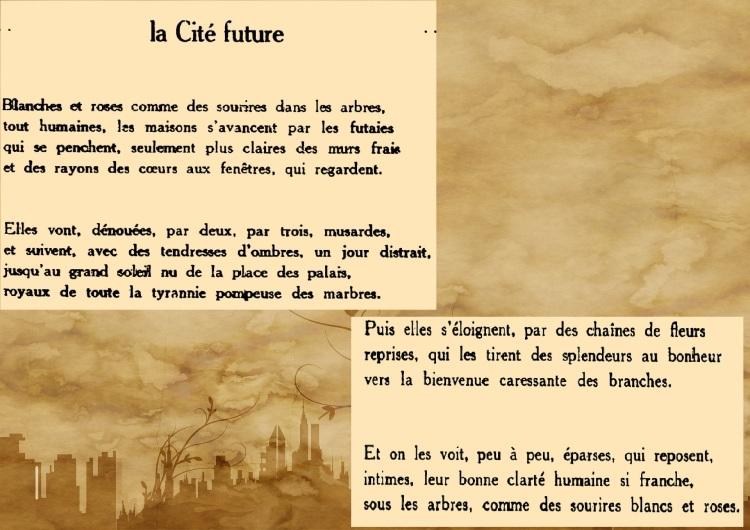 La cité future