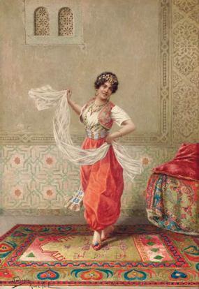 Orientalische-Taenzerin