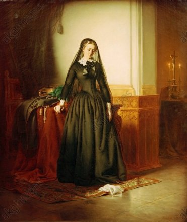 J.Borsos, Die Witwe - -
